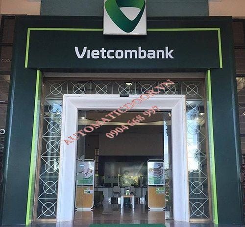 Lắp đặt cửa tự động ngân hàng uy tín
