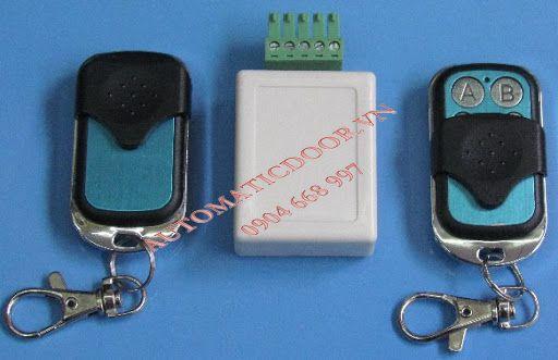 Cách đấu nối remote điều khiển từ xa cửa tự động