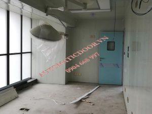Cửa tự động phòng x-quang