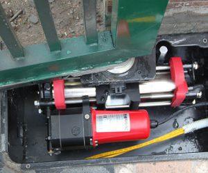 Motor cổng mở tự động âm sàn thủy lực