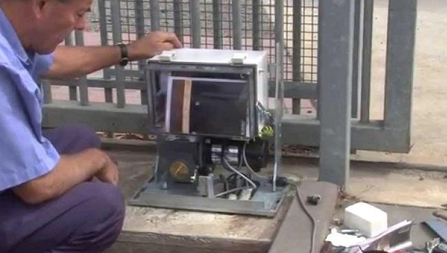 Sửa chữa motor cổng lùa tự động