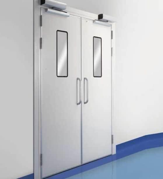 Các loại cửa kim loại chống cháy và nguyên tắc lựa chọn