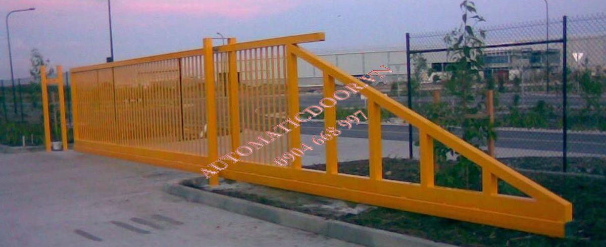 Hướng dẫn làm cổng trượt không đường ray