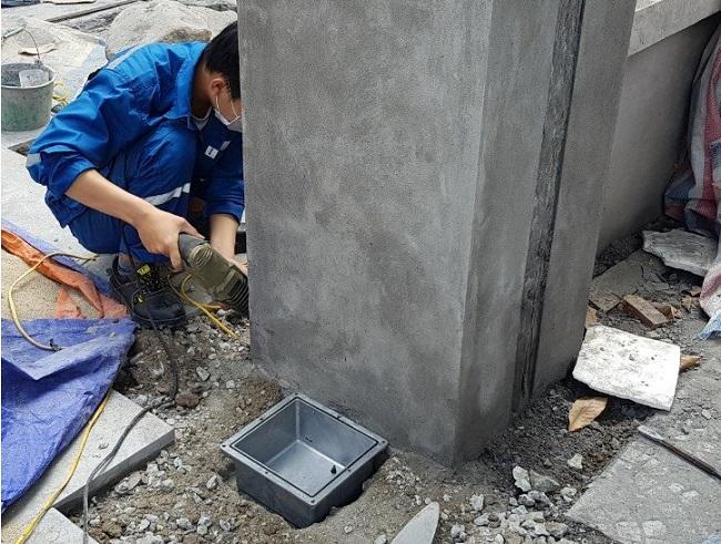 Âm đế motor âm sàn Malaysia