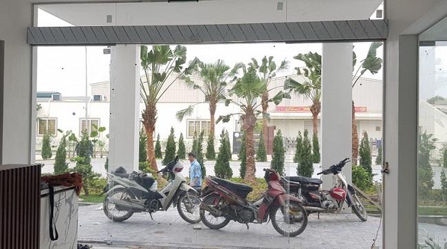 Cửa cổng tự động nhà máy, xí nghiệp, KCN Hóc Môn