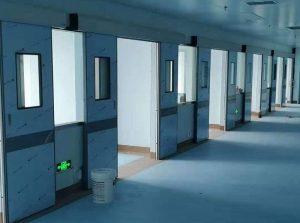 Hệ thống cửa tự động phòng mổ bệnh viện