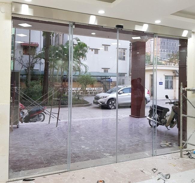 Cửa tự động KYK giá rẻ Hàn Quốc