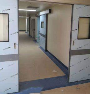 Lắp đặt cửa trượt phòng mổ trong bệnh viện
