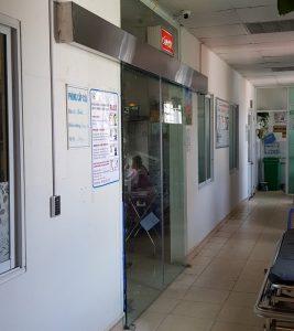 Cửa tự động phòng cấp cứu
