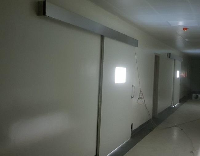 Cửa tự động phòng sạch cánh panel
