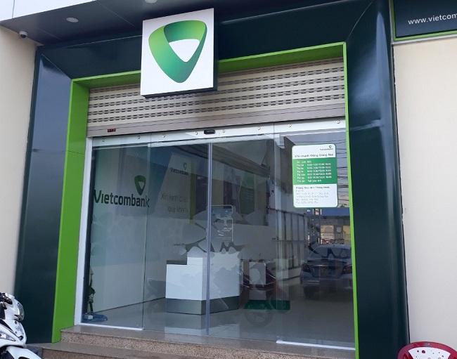 cửa lùa tự động 2 cánh ngân hàng công thương