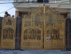 mô tơ cổng nhôm đúc biệt thự giá rẻ