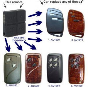 Remote điều khiển cổng tự động từ xa Gibidi
