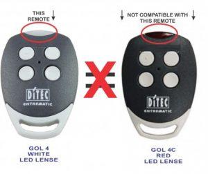 Remote điều khiển từ xa Ditec