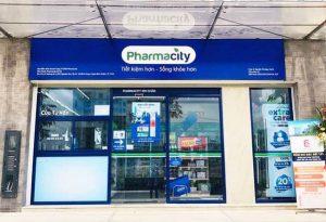 Cửa kính tự động cửa hàng parmarcity