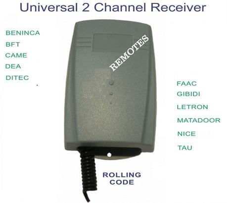 Hộp thu điều khiển từ xa thông minh 2 kênh