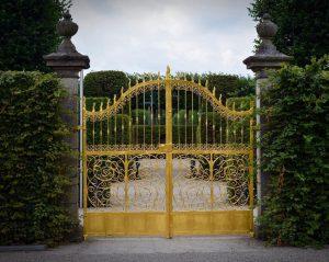 Mẫu cổng đẹp tự động BIỆT THỰ