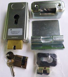 Bộ khóa điện gắn ngang dùng cho cổng mở tự động