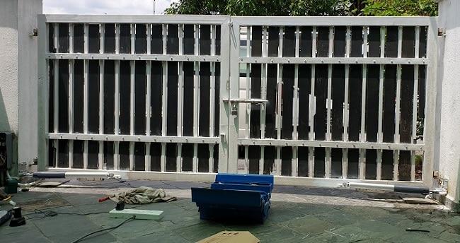 Lắp đặt cổng tự động cho ngôi nhà thân yêu