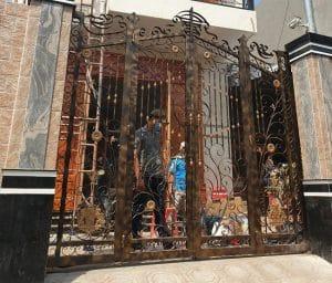 cổng đẹp tự động