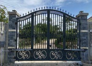 cổng mở 2 canh tay đòn đài loan