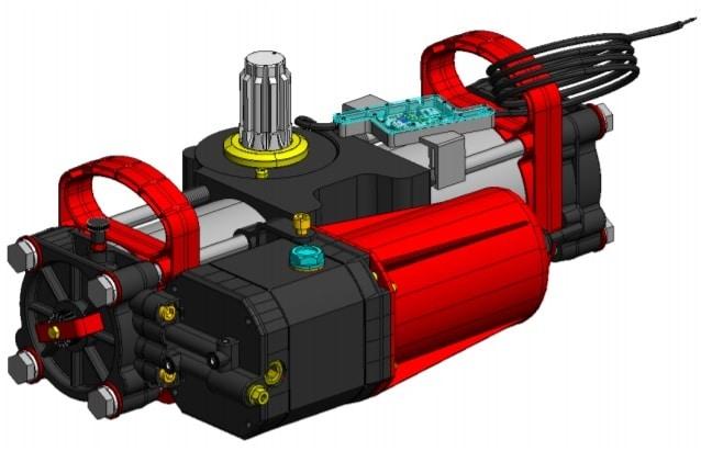 Gắn mô tơ cổng âm sàn thủy lực FAAC S800 24V