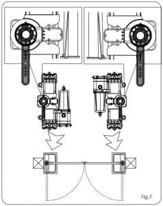 4. LẮP ĐẶT ĐỘNG CƠ CỔNG FAAC S800