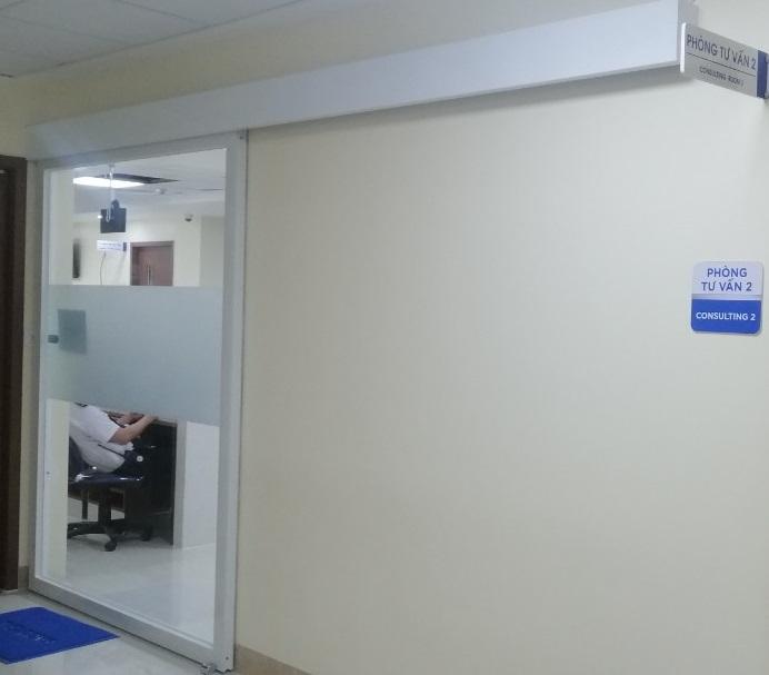 Cửa kiểm soát vệ sinh cho bệnh viện & khu vực chăm sóc sức khỏe