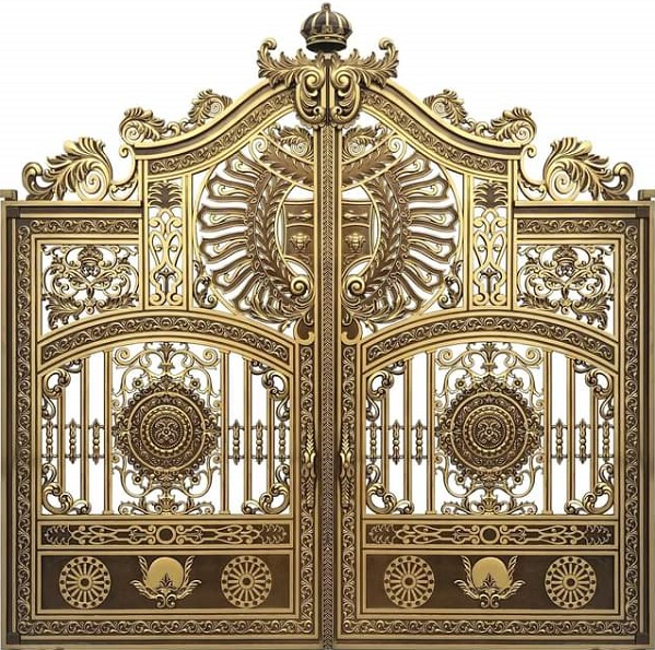 Cách nhận biết chất lượng và giá cửa cổng nhôm đúc