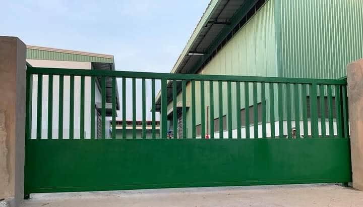 Bảo mật cơ sở với hệ thống cửa cổng tự động