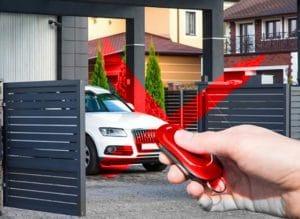 Mở cổng tự động không cần điều khiển từ xa