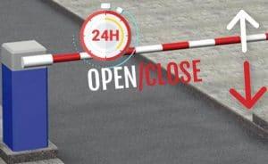 Tần suất barrier đóng mở mỗi ngày