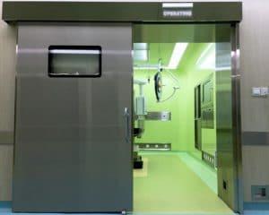Cửa inox bệnh viện
