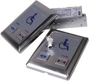 Công tắc vô hiệu hóa cửa vệ sinh tự động
