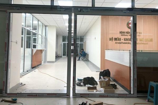 Tiêu chuẩn thiết kế cửa đặc biệt của bệnh viện