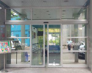Cửa nhôm kính tự động bệnh viện và cơ sở y tế